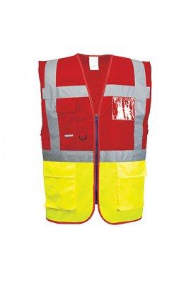 Portwest C276 Hi Vis Exceutive Vests (Paris) (Small To 3XL)