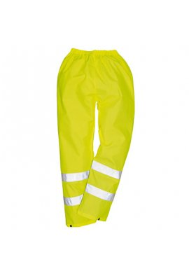 Portwest H441 Hi-Vis Rain Trousers (Small To 4XL)