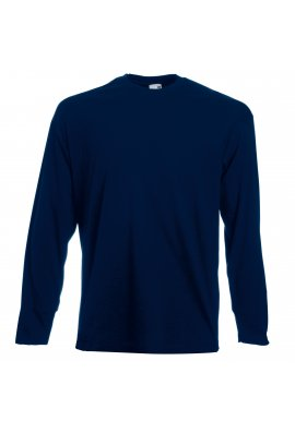 Fruit Of The Loom SS032 Valueweight Long Sleeve T-Shirt (Small To 2XL) 6 COLOURS