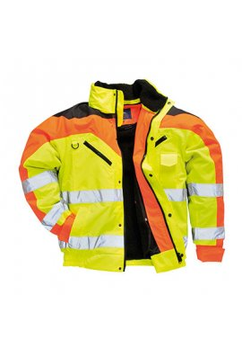 Portwest S464 Contrast Plus Bomber Jacket (Small To 3XL)