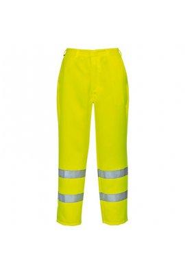 Portwest E041 Hi-Vis Poly-Cotton Trousers