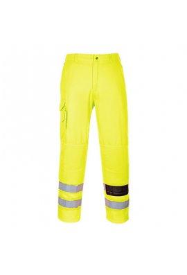 Portwest E046 Hi-Vis Combat Trousers (Small To 2XL Reg)