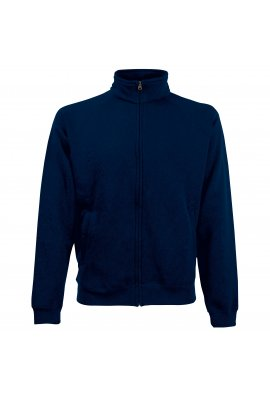 Fruit Of The Loom SS226 Classic 80/20 Zipped Sweat Jacket (Small to 2Xlarge) 5 COLOURS