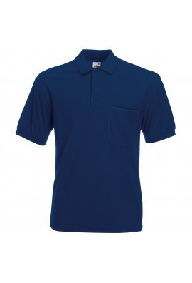 Fruit Of The Loom SS308 65/35 Pocket Polo (Small To 3XL) 5 COLOURS