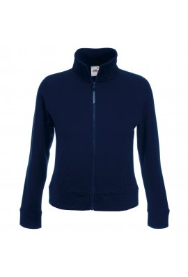 Fruit Of The Loom SS310 Premium Lady-Fit Sweat Jacket (Xsmall to 2Xlarge) 4 COLOURS