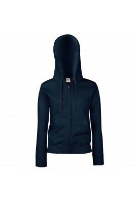 Fruit Of The Loom SS312 Premium Ladies Full Zip Hooded Sweatshirt (XSmall to 2Xlarge) 8 COLOURS