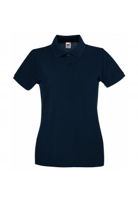 Fruit Of The Loom SS505 Lady-Fit Premium Polo 100% COTTON (XSmall To 2XL) 10 COLOURS