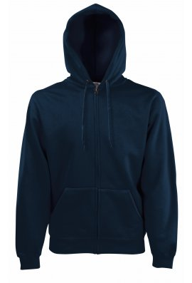 Fruit Of The Loom SS822 Premium 70/30  Full Zip  Hooded Sweatshirt (Small to XLarge) 7 COLOURS R
