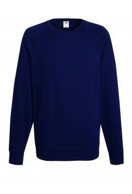 Fruit Of The Loom SS970 Lightweight Raglan Sweatshirt (Small To 2XL) 12 COLOURS