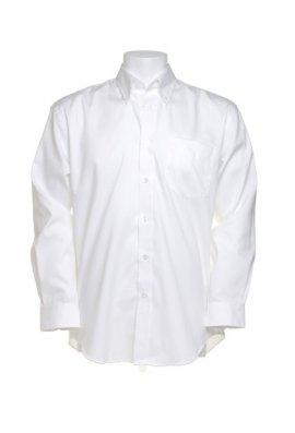 Kustom Kit KK105 Corporate Oxford Long Sleeved Shirt  (Collar Size 14.5 To 19.5)  8 COLOURS