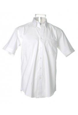 """Kustom Kit KK109 Corporate Oxford Short Sleeved Shirt  (Collar Size 14.5"""" To 19.5"""") 10 COLOURS"""