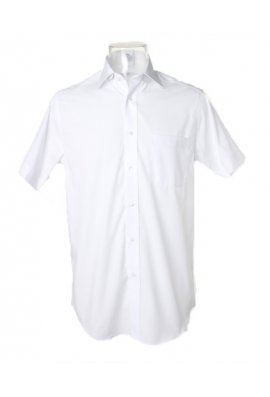 "Kustom Kit KK115 Premium Non Iron Corporate Short Sleeved Shirt (Collar size 14.5"" To 18.5"") 2 COLOURS"