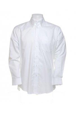 Kustom Kit KK351 WorkWear Oxford Long Sleeved Shirt  (Collar Size 14.5 To 23.00)  4 COLOURS