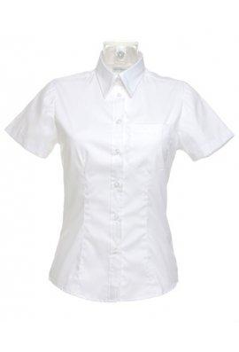 Kustom Kit KK719 Womens Corporate Pocket Oxford Short Sleeved Blouse (Size 8 yo Size 20)  2 COLOURS