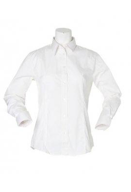 Kustom Kit KK729 Womens WorkForce Long Sleeved Blouse (Size 8 To 24)  3 COLOURS