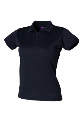 Henbury HB476 Womens Coolplus Polo (Small to 3XLarge) 12 COLOURS