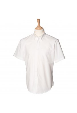 Henbury HB515 Short Sleeved Classic Oxford Shirt  (Small To 2XL) 3 COLOURS