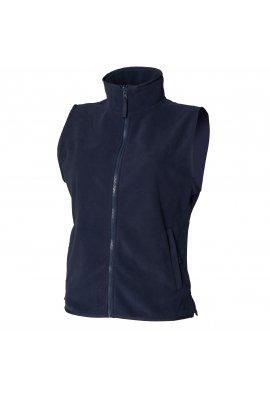 Henbury HB856 Womens Sleeveless MicroFleece Jacket (Small to 2XLarge)