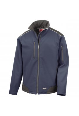 Result R124A RipStop Softshell Workwear Jacket (Small to 3XLarge) 3 COLOURS