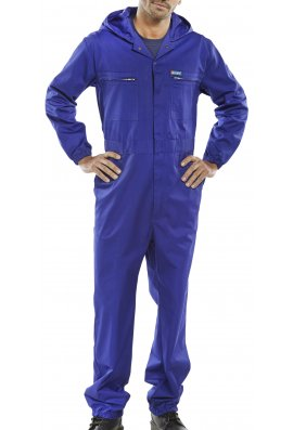 Beeswift PCBSHCAR Super Click hooded Boilersuit (36 to 54 Chest)