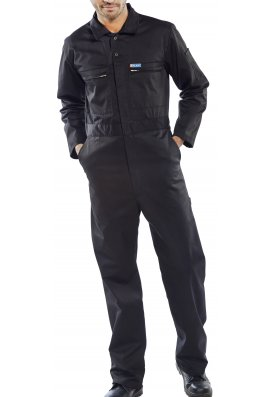 Beeswift PCBSHW Super Click BoilerSuit (36 to 58 Chest) 5 COLOURS