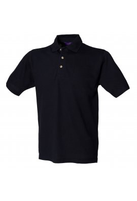 Henbury HB100 Classic Polo With Stand Up Collar (Small to 3XL) 10 COLOURS