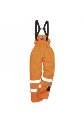 Portwest S781 BizFlame Lined Salopettes (Flame Retadent Anti Static) (Small To 3XL)