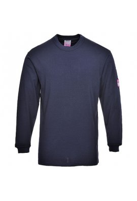 Portwest FR11 Flame-Resistant Anti-Static Long Sleeved T-Shirt (Small to 5XLarge)