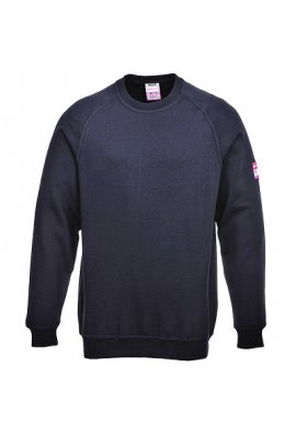Portwest FR12 Flame-Resistant Anti-Static Long Sleeved SweatShirt (Small to 4XLarge)