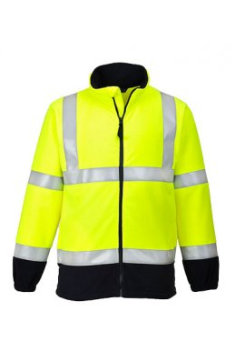 Portwest FR31 Flame Resistant Anti-Static Hi-Vis Fleece (Small To 3XL)