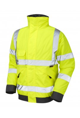 Leo Workwear J01-Y Class 3 Chivenor Bomber Jacket (Small to 6XLarge)