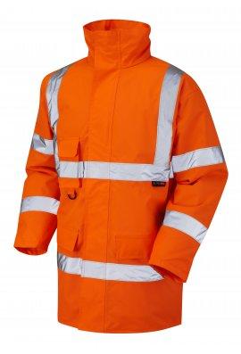 Leo Workwear A01-O Class 3 Tawstock Anorak (Small To 6XL)