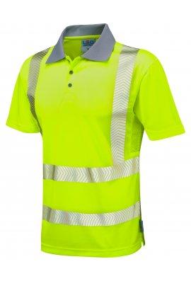 Leo Workwear P03-Y Class 2 Woolacombe Coolviz Plus Polo Shirt (Small To 6XL)