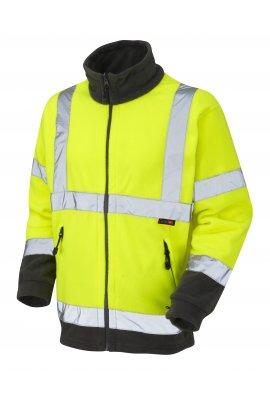 Leo Workwear F01-Y Class 3 Hartland Fleece Jacket (Small To 4XL)