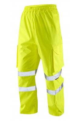 Leo Workwear L01-Y Class 1 Appledore Cargo Overtrousers (Small To 5XL)