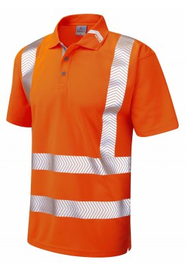 Leo Workwear P09-O Class 2 Coolviz Ultra Polo Shirt (Small To 6XL)