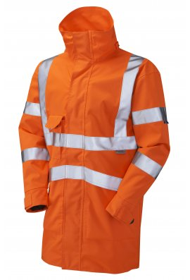 Leo Workwear A04-O Class 3 Breathable Exectuive Anorak (Small To 6XL)
