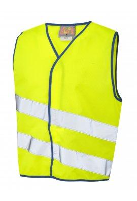 Leo Workwear CW01-Y NeonStars Childrens yellow vis vest (3/4 To 9/11)