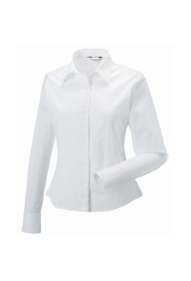 Russell J916F Womens Long Sleeve Classic Twill Shirt (XS To 2XL)  5 COLOURS