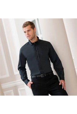 Russell J916M Long Sleeved Classic Twill Shirt