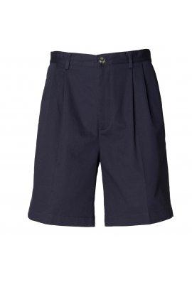 Henbury HB605 Teflon Coated Chino Shorts Navy