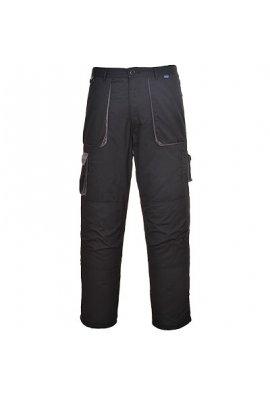 Portwest TX16 Texo Contrast Trouser-Lined Black