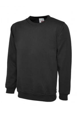 Uneek UC203 Classic SweatShirt 50/50 polycotton  (XSmall To 6XL) 12 COLOURS