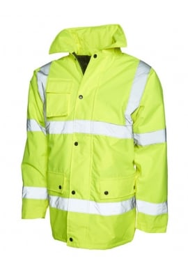 Uneek UC803 Road Safety Jacket (Small To 4XL)
