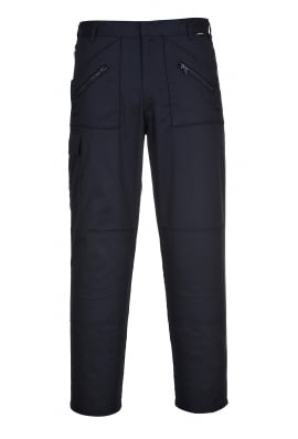 Portwest S887NV Action Trousers Navy available in 36 inch Leg