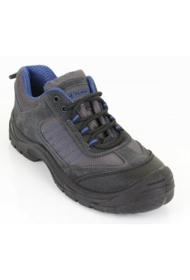 Beeswift CF17 D/D Trainer Shoe Black/Blue (03To13)