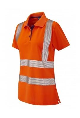 Leo Workwear PL03-OOR Ladies Fit Coolviz Plus Polo Shirt (XSto6XL)