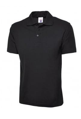 Uneek UC101 Classic Pique Polo Shirt 50/50 polycotton (XSmall To 4XL) 15 COLOURS