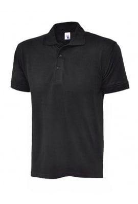 Uneek UC108 Deluxe Polo Shirt 50/50 polycotton (XSmall To 4XL)  12 COLOURS