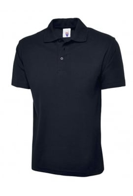 Uneek UC124 Olympic Polo Shirt 50/50 polycotton (XSmall To 4XL) 9 COLOURS